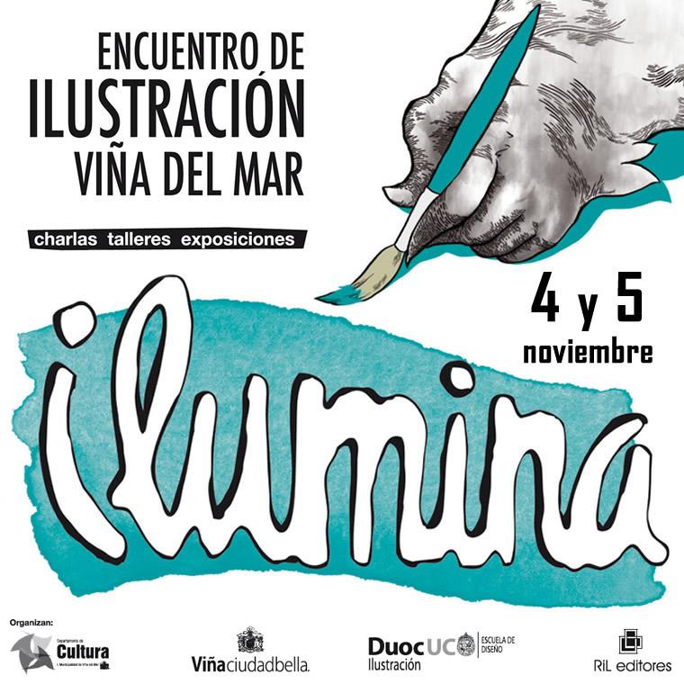 ILUMINA, encuentro de ilustración, Viña Del Mar