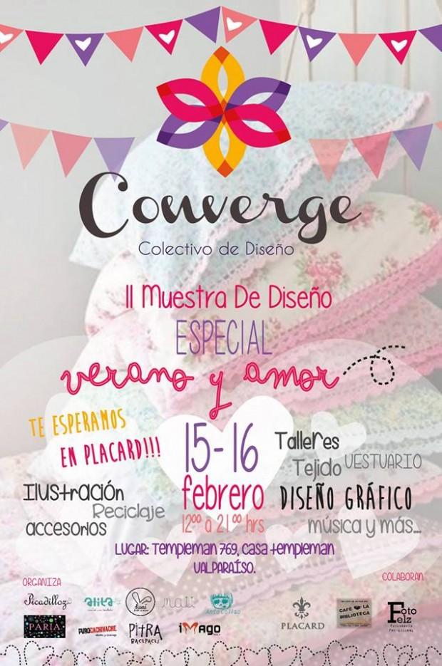 Afiche Colectivo Converge II