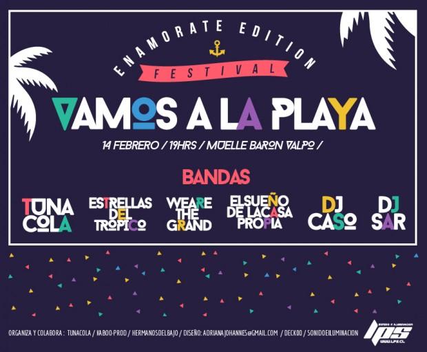 Afiche Festival Vamos a la Playa