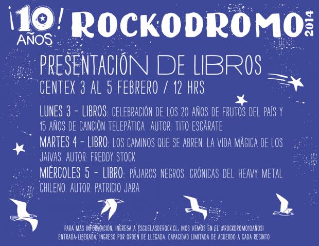 Libros Rockodromo