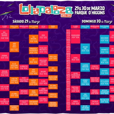 Miniatura Lollapalooza 2014