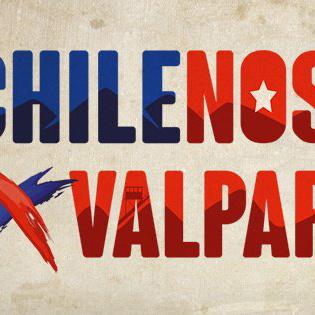 Miniatura Chilenos por Valparaíso