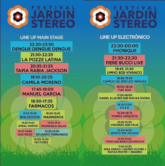 Jard n stereo la propuesta musical m s grande vi a del for Jardin stereo 2015 line up