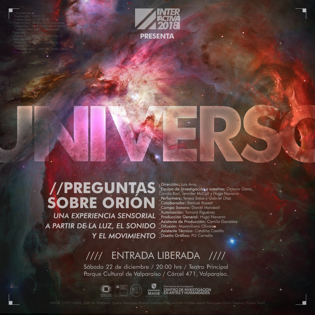 Afiche UNIVERSO Orizontal Instagram