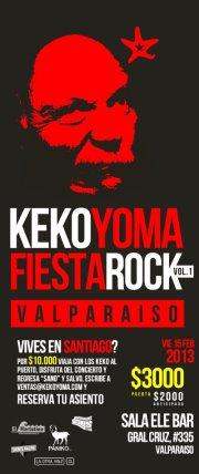 Keko Yoma Flyer