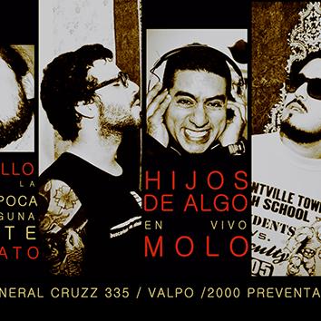 Miniatura Hijos de Algo lanza disco debut en Valparaíso junto a Molo